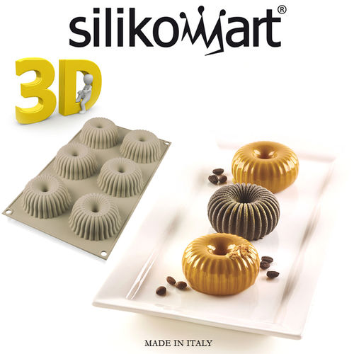 Silikomart - 3D mould Mini Raggio