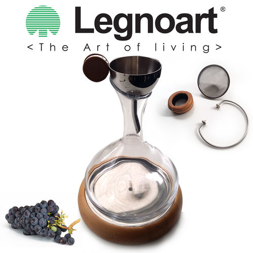 Legnoart - Wine Decanting Set LANGHE