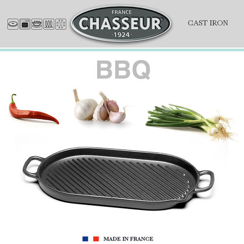 Chasseur - Oval Grill 41 x 20 cm