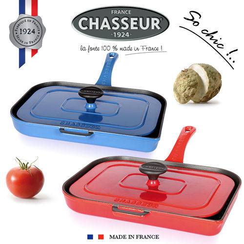 Chasseur - Double grill for panini and meat