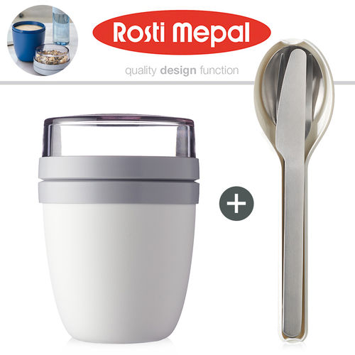 Rosti Mepal - Lunchpot + cutlery set 3 pcs