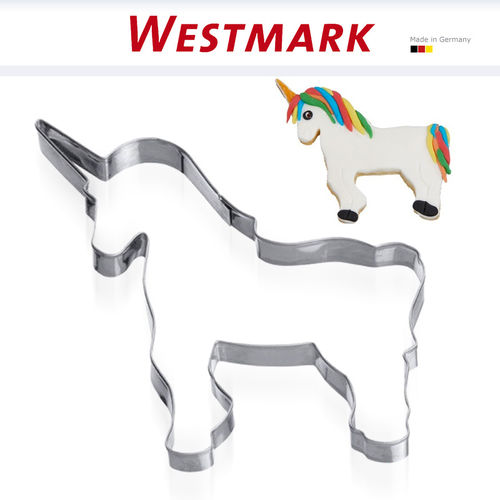"Westmark - Cookie cutter ""Unicorn standing"" 5 cm"