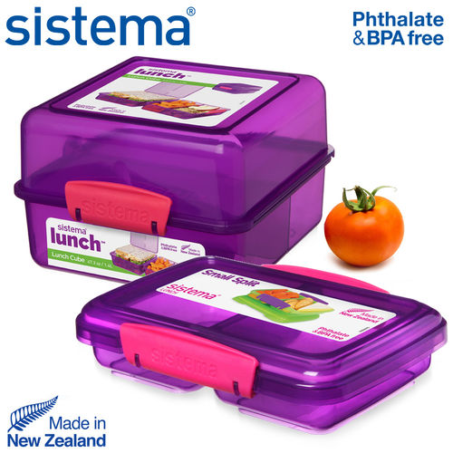 sistema - Lunch Cube + Small Split - Lila