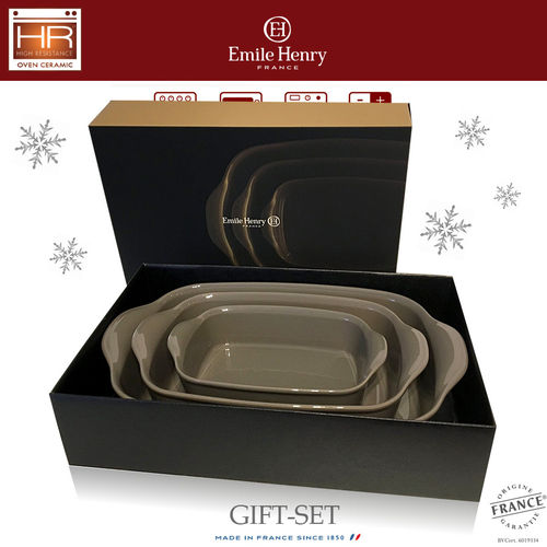 Emile Henry - Ultime Oven Dish Set of 3 - Silex