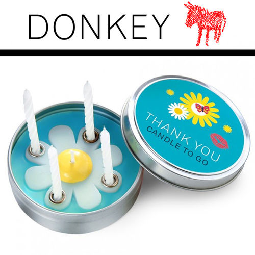 Donkey - Candle to go - Thank You