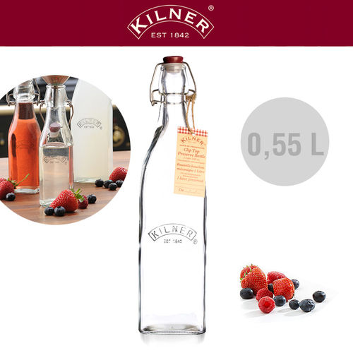Kilner - Glass bottle 0.55 liters