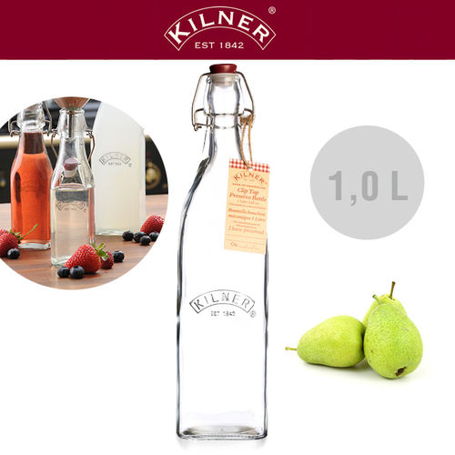 Kilner - Glass bottle 1.0 liters