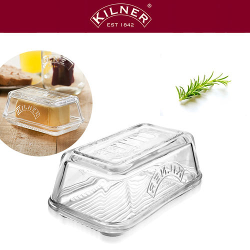 Kilner - Butter Dish made of Glass