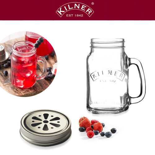 Kilner - Lid for Clear Handled Jar 0.4 liter