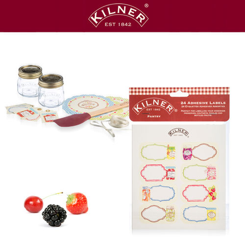 Kilner - Kitchen label set 24 pieces