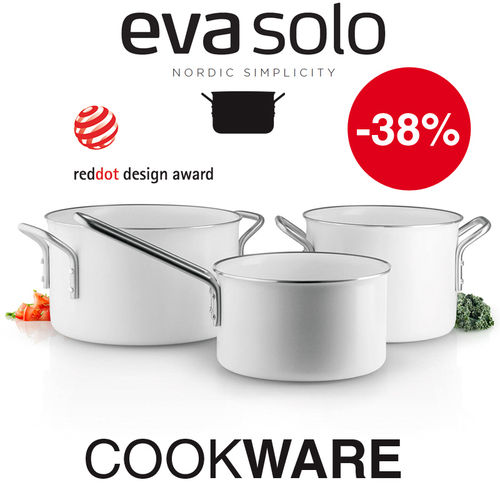 Eva Solo - Cookware-Set White Line - Set of 3