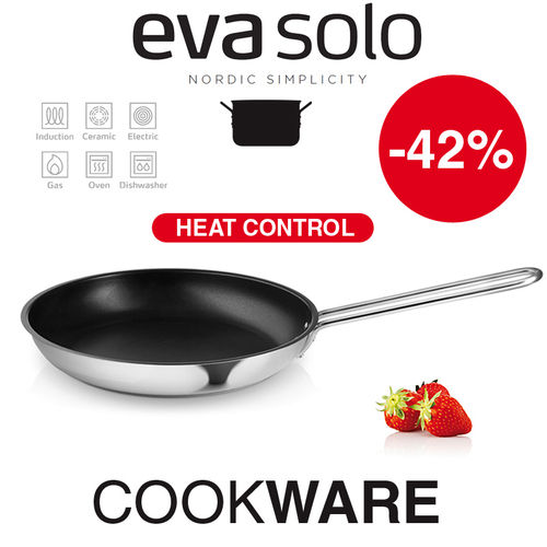 Eva Solo - Bratpfanne 28 cm - Induction Heat Control