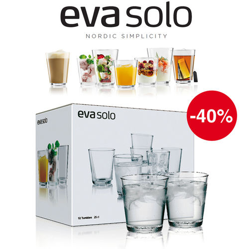 Eva Solo - Gift-packaged drinking glasses - Set of 12