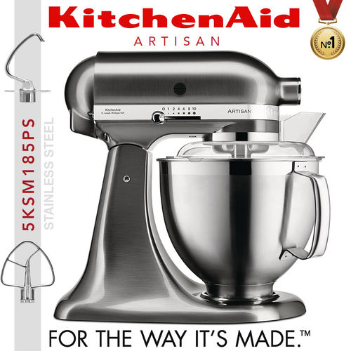 KitchenAid - Artisan Stand Mixer 5KSM185PS - Brushed metal