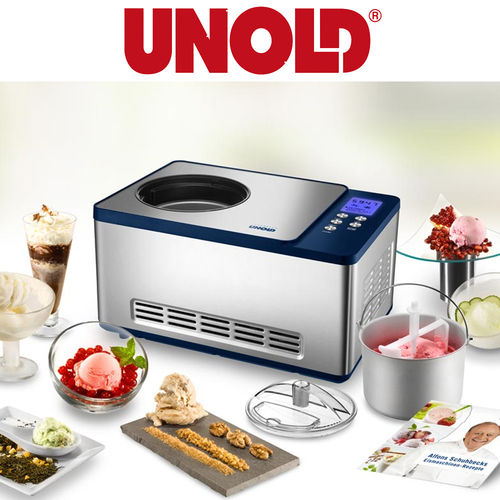 Unold - ICE CREAM MAKER Schuhbeck exclusive