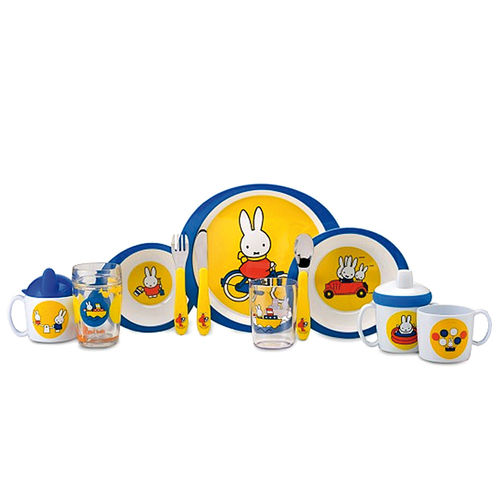 Mepal - Kindergeschirr - Miffy Travel