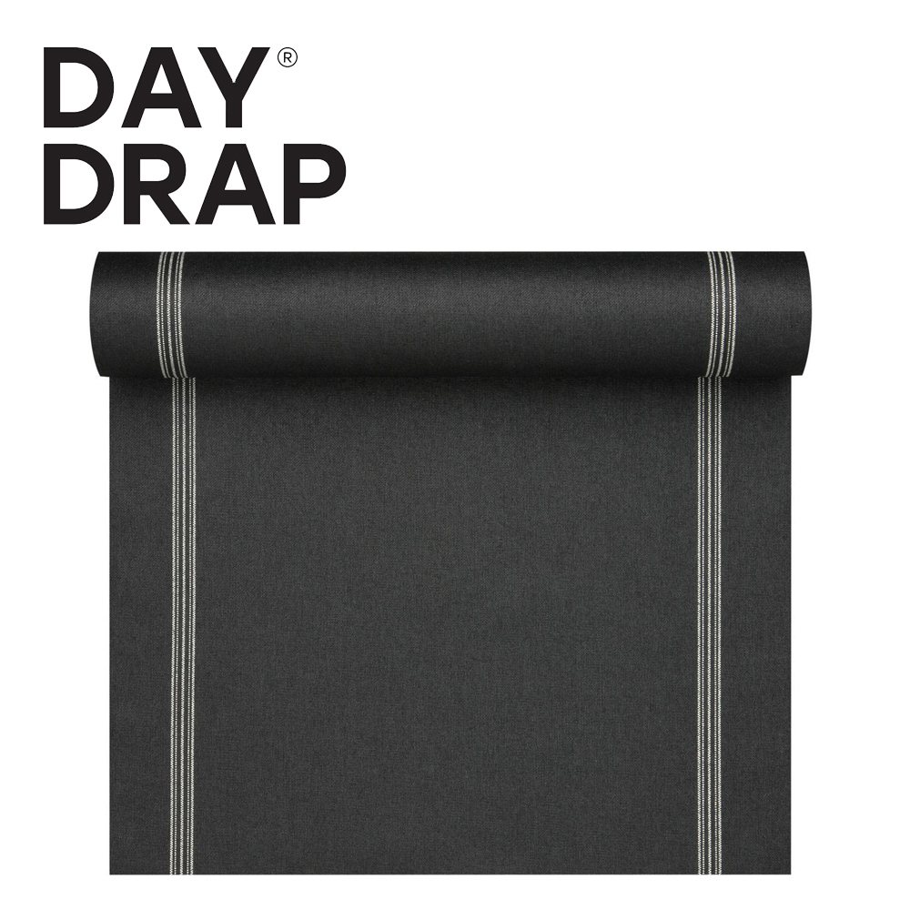 DAY DRAP - Table Runner - Black Nature - 120 x 45 cm