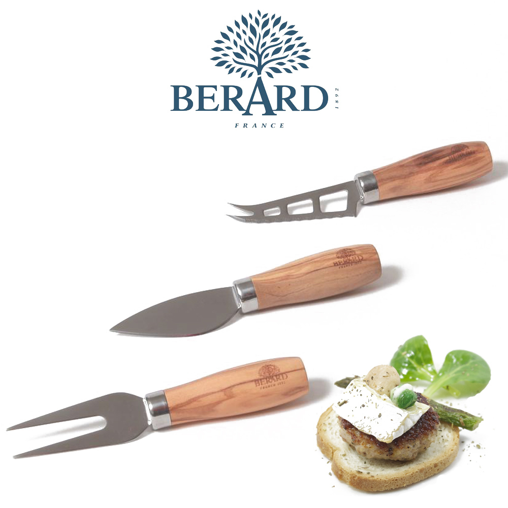 BÉRARD - Cheese Knife Set 3 pieces