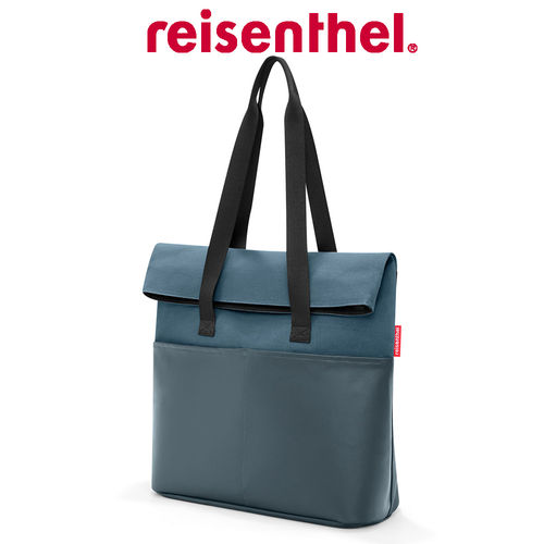 reisenthel - foldbag - canvas blue