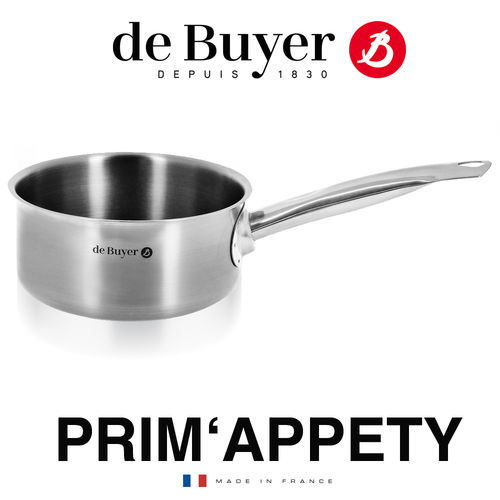 de Buyer - PRIM'APPETY - Saucepan made of stainless steel