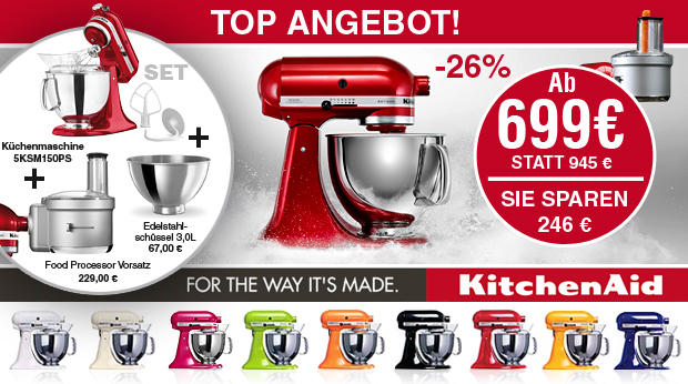 KitchenAid - Top Angebot 2015/2016