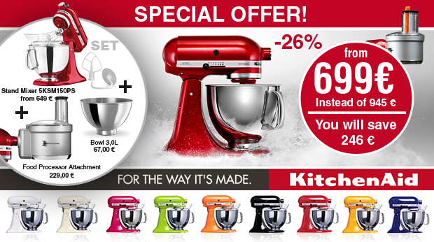 KitchenAid - Special Offer 2015/2016