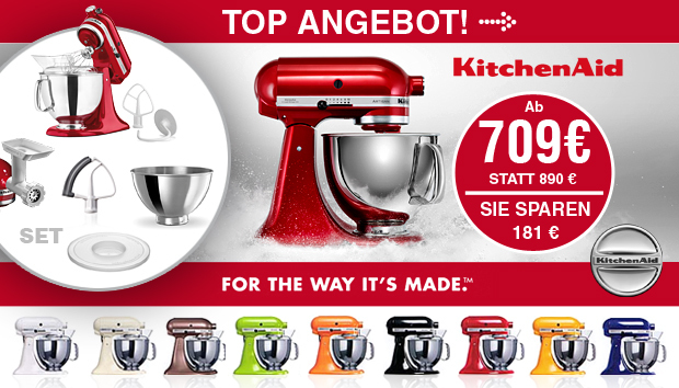 KitchenAid - Top Angebot 2016/2017