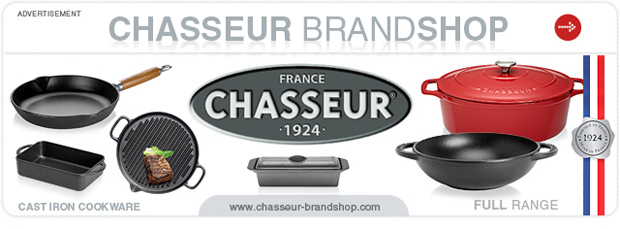 www.chasseur-brandshop.com - The New Brand Shop of Chasseur - Cast Iron Cookware