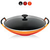 Le Creuset - Wok 36 cm with glass lid