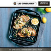Le Creuset - Square Skinny Grill - Black