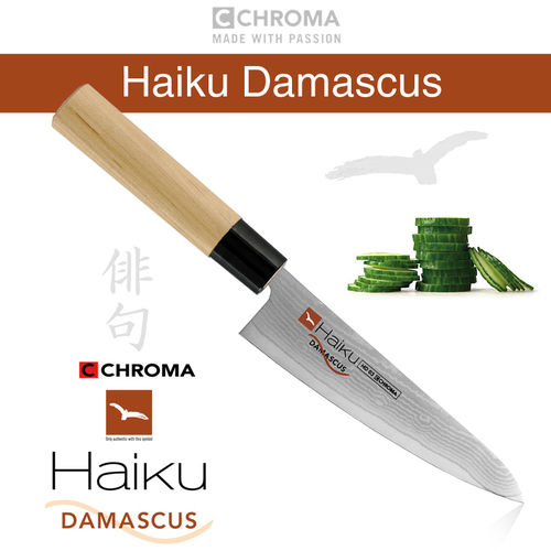 Haiku Damascus HD-03, Cook Knife