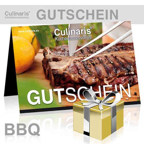 Online-Shop - Gift Coupon - Design BBQ