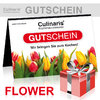 Culinaris-Store Gift Coupon - Design Flower