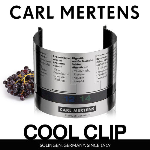 Carl Mertens - COOL CLIP Weinthermometer
