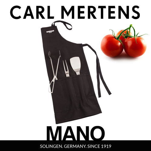 Carl Mertens - MANO BBQ set Standard. 4 pc.