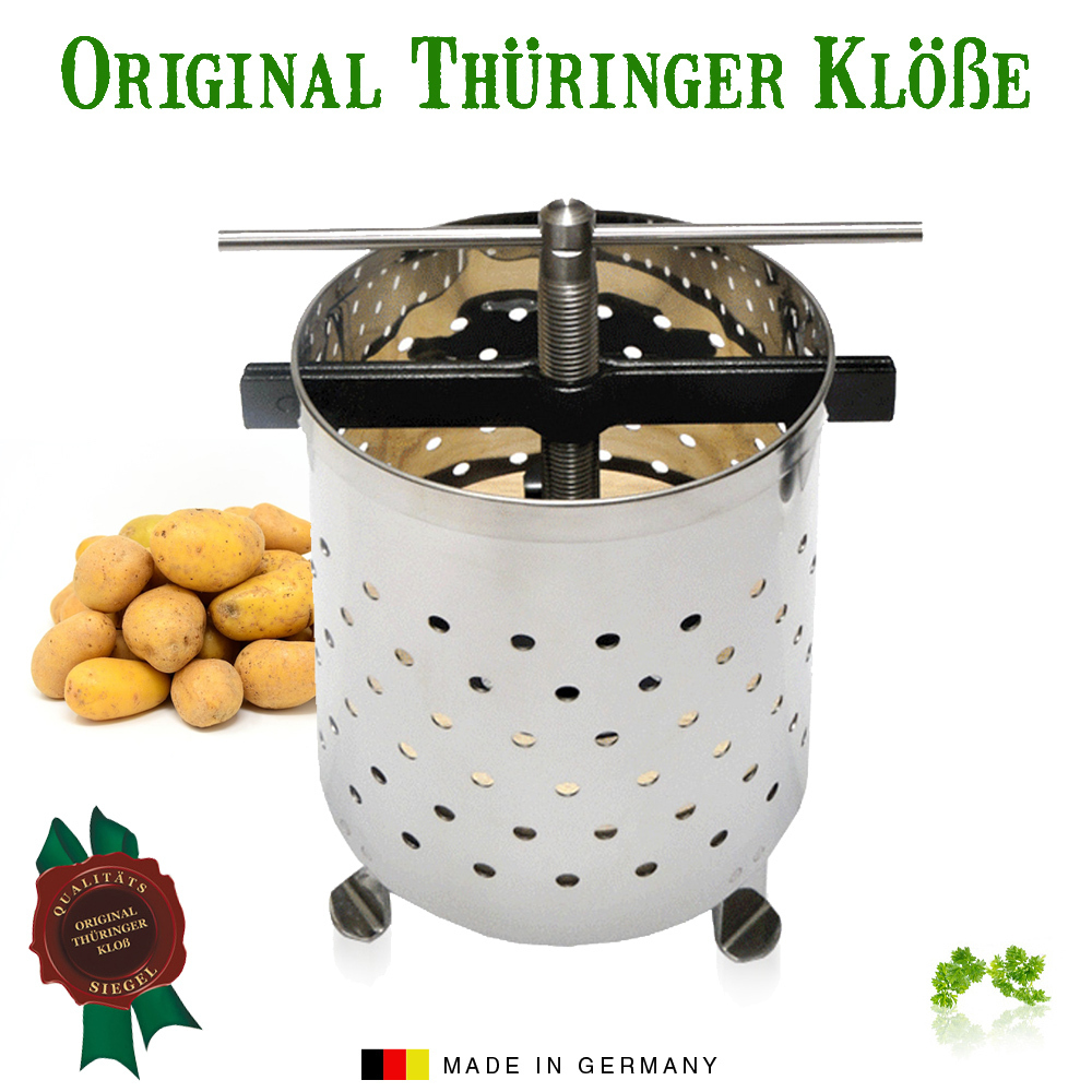Thuringian dumpling presse small - Made in Germany