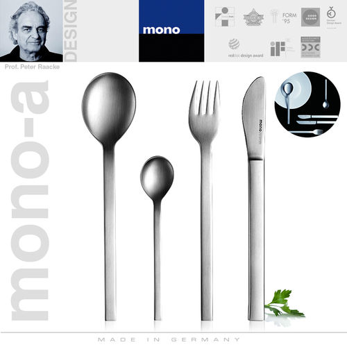mono-a - Cutlery set, 4 pcs. with short blade
