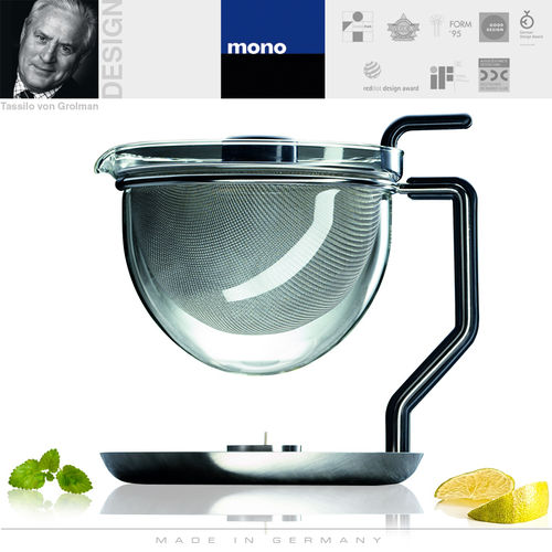 mono classic - Teapot with integrated warmer