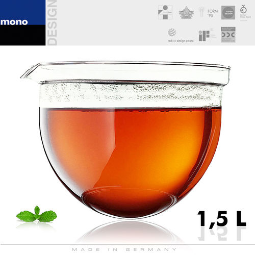 mono - Replacement glass for teapots 1,5 L