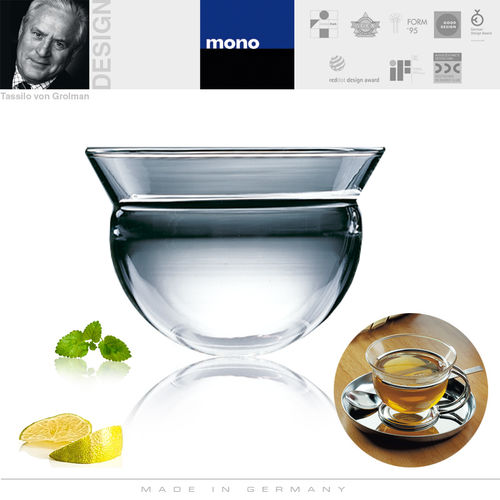 mono - filio replacement glass - teacup or sugar bowl
