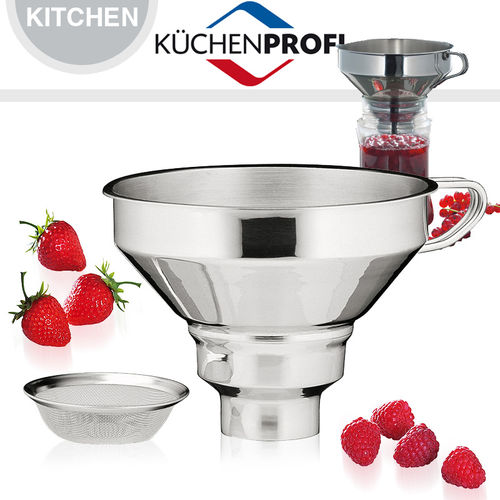Küchenprofi - Jam Funnel with strainer