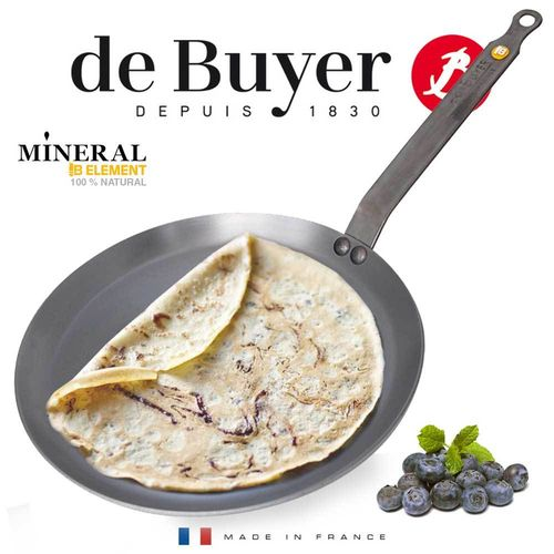 de Buyer - Crêpe Pan - Mineral B Element