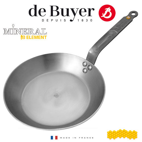 de Buyer - round Frypan - Mineral B Element