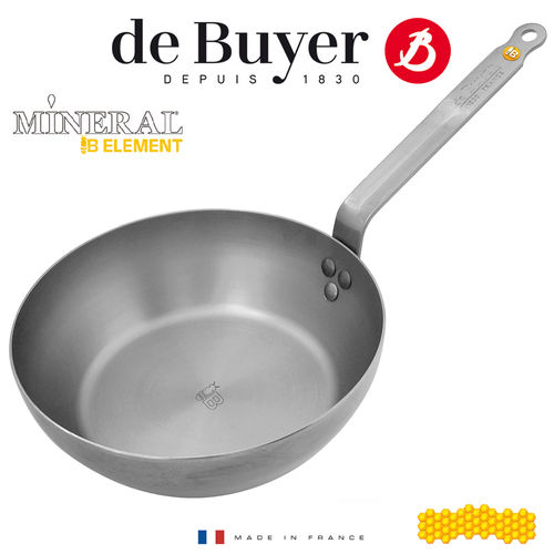de Buyer - Round Country pan - Mineral B Element