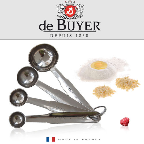 de Buyer - Set of 4 measuring spoons