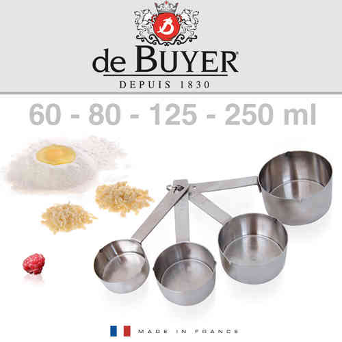 de Buyer - Set of 4 measuring cups
