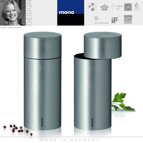 mono - Exzentrik Pepper and salt mill, 2 pcs.