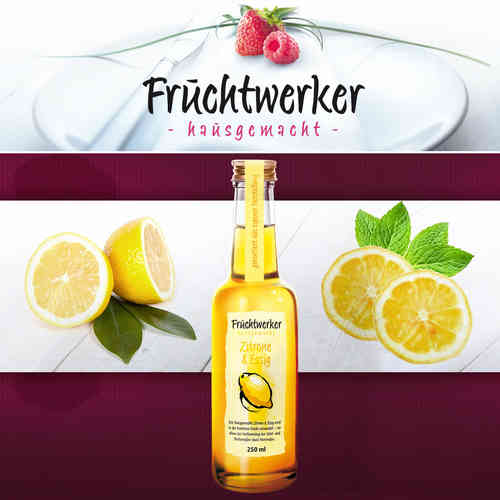 Fruchtwerker - Fruit Vinegar Citrus & Vinegar 250 ML