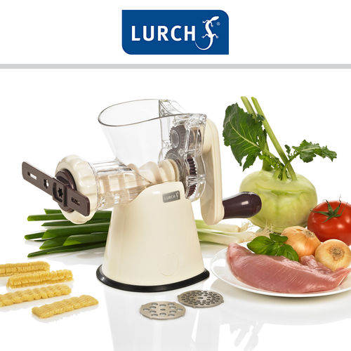 Lurch - Rotary mincer with pastry attachment, aubergine