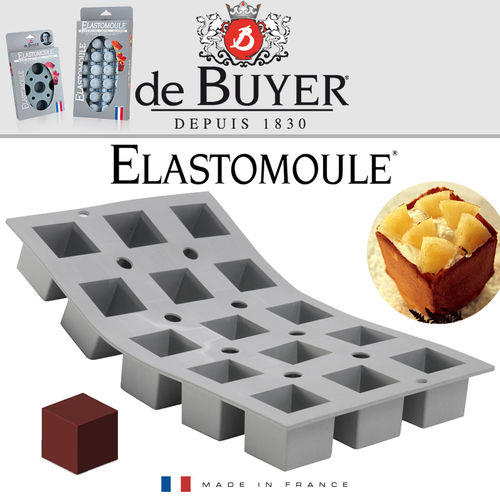 de Buyer - ELASTOMOULE - 15 Mini Cubes